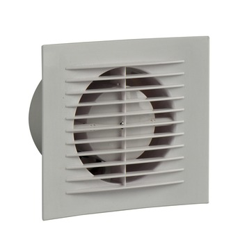 IVC Air Design inbouwventilator vierkant wit 100 mm