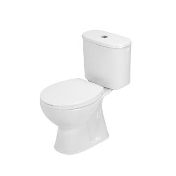Atlantic Axel toilet duoblok met reservoir AO/vloeraansluiting