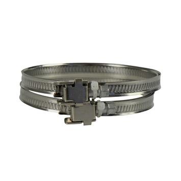 IVC Air slangenklem aluminium 50-165 mm 2 stuks
