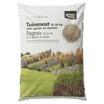 Greenway meststof alle planten 12-10-18 10 kg