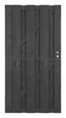 Poort Royal antraciet recht ca. 90x180 cm