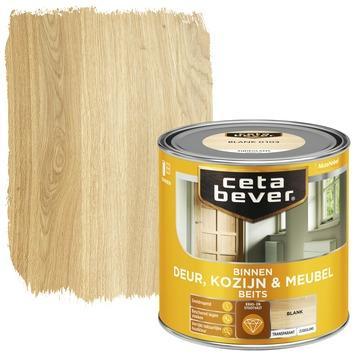 Cetabever binnenbeits deur, kozijn en meubel transparant blank zijdeglans 250 ml