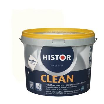 Histor Clean muurverf zonlicht (RAL9010) 10 liter