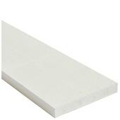 Plank vuren geschaafd 27x192 mm, lengte 250 cm wit (RAL 9010)