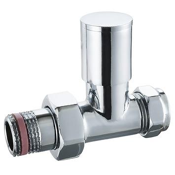 Haceka thermostatische radiatorkraan hoek 15 mm