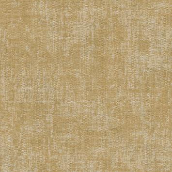 Vliesbehang stof zara oker (dessin 105144)