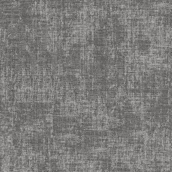 Vliesbehang stof zara antraciet (dessin 105147)