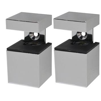 Duraline clip cube mini chroom
