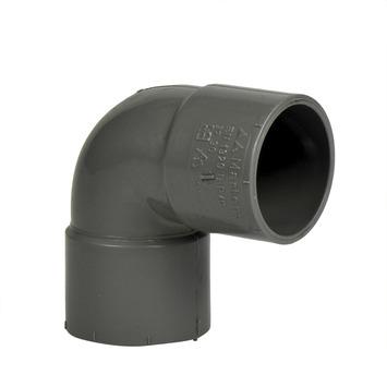 Martens PVC bocht 90° grijs 2x mof 32 mm