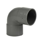 Martens PVC bocht 90° grijs 2x mof 40 mm