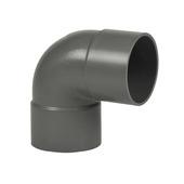 Martens PVC bocht 90° grijs 2x mof 50 mm