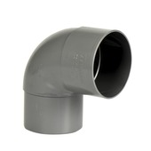 Martens PVC Bocht 90° Grijs Mof/ Verjongd 80 mm