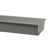 Martens bakgoot grijs 125 mm x 2 m