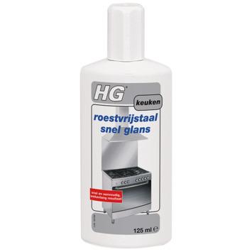 HG roestvrijstaal 'Snel' Glans 125 ml