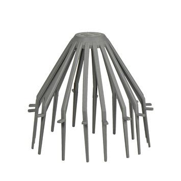 Martens bladbolrooster grijs 80 mm