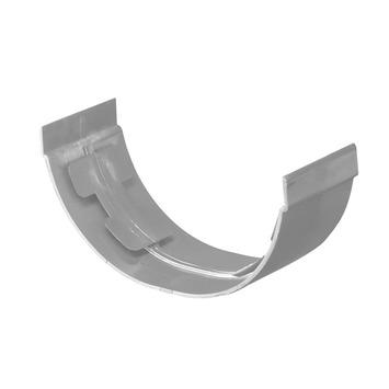 Martens verbindingsstuk mastgoot grijs 100 mm