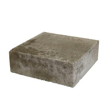 Trommelsteen Beton Plano Grijs 21x21x7 cm