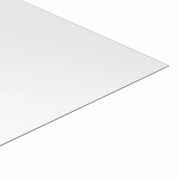 Martens polycarbonaat plaat transparant 50x100 cm dikte 3 mm