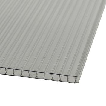 Martens polycarbonaat plaat dubbelwandig 105x205 cm dikte 6 mm