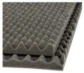 Decor geluidsisolatieplaat zwart 100x50x3 cm 2 stuks