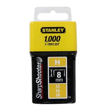 Stanley nieten 8mm type h 1000 stuks