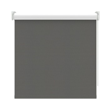 KARWEI rolgordijn verduisterend antraciet (3664) 180 x 190 cm (bxh)