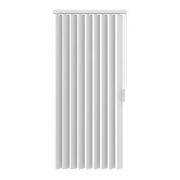 KARWEI lamellen stof wit (5700) 200 x 180 cm
