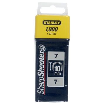 Stanley krammen 10mm type 7 1000 stuks