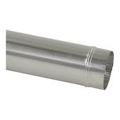 Pijp aluminium 100 mm x 100 cm
