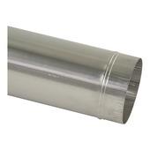 Pijp aluminium 130 mm x 100 cm