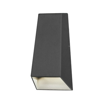 Konstsmide buitenlamp Imola zwart - Incl 2X LED 3W