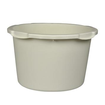Stuckuip rond 45 liter wit