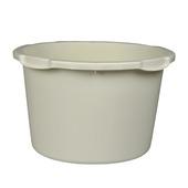 Speciekuip rond 45 liter wit