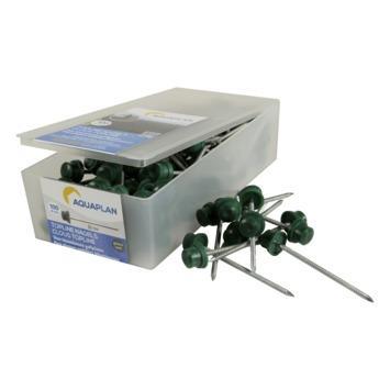 Aqualine nagels verzinkt groen 100 stuks