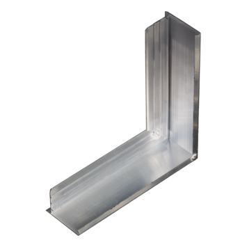 Aquaplan buitenhoek aluminium 20cm x 20cm 60mm