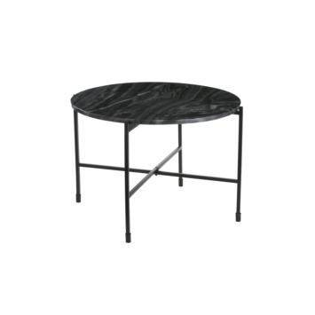 Salontafel Nanne grijs marmer (hxbxd) 41x62x62 cm