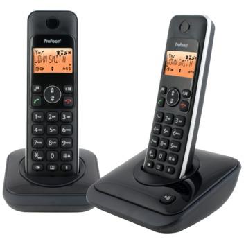 DECT telefoon duo zwart