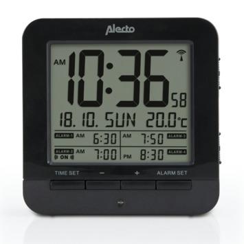 Wekker met thermometer
