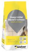 Weber SG voegmiddel blijvend schoon wit 4 kg