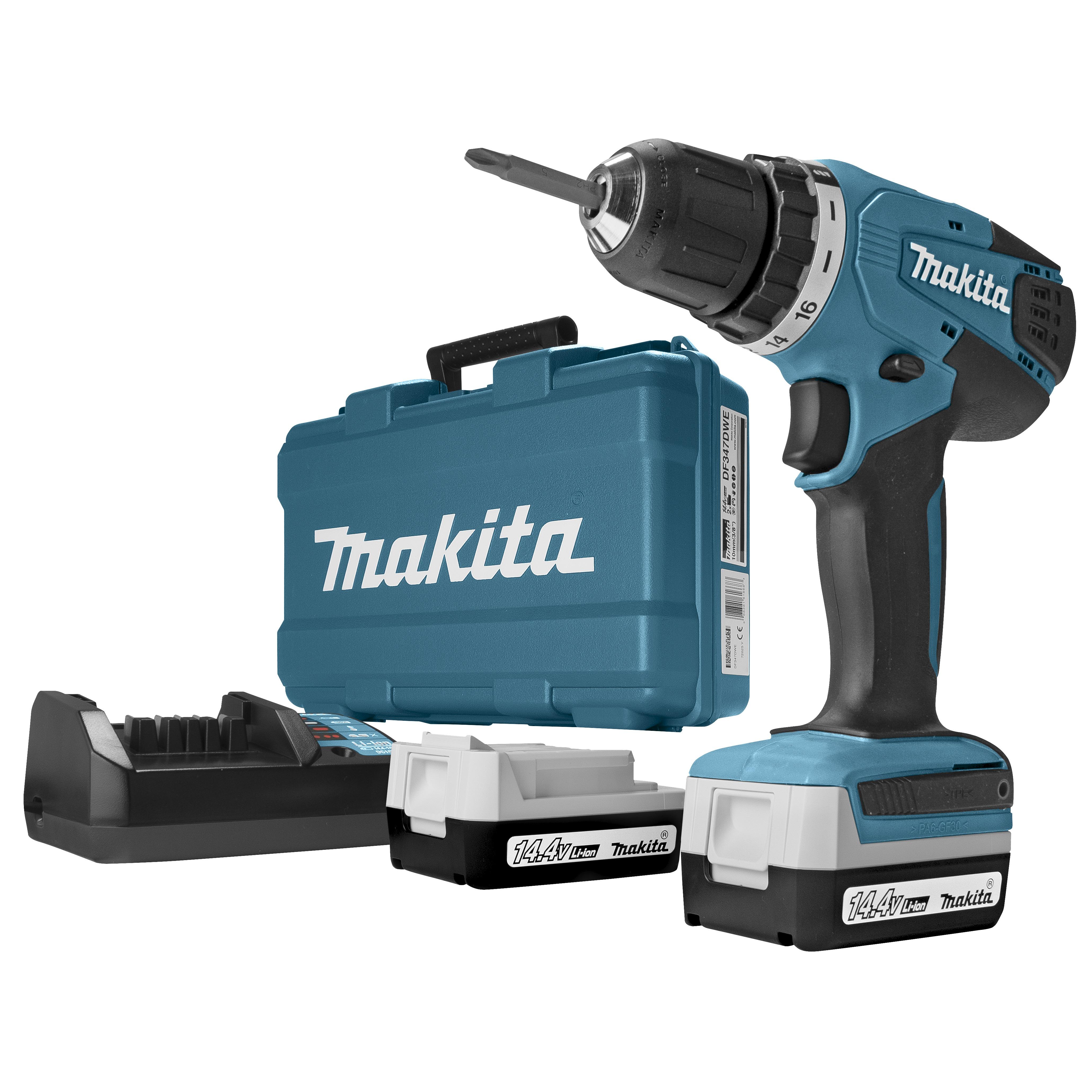 Makita accu boormachine DF347DWE