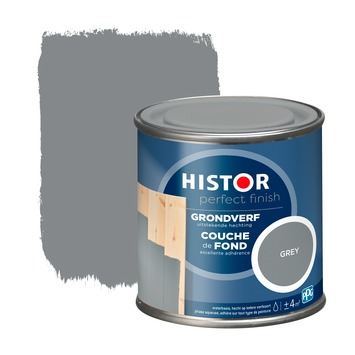 Histor Perfect Finish grondverf RAL 7037 grey 250 ml