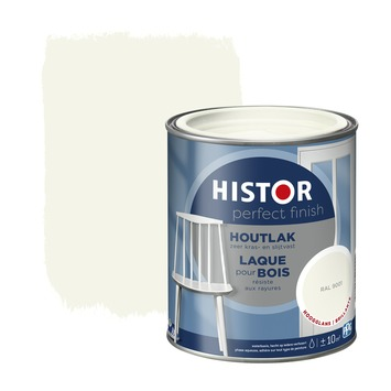 Histor Perfect Finish houtlak hoogglans RAL 9001 750 ml