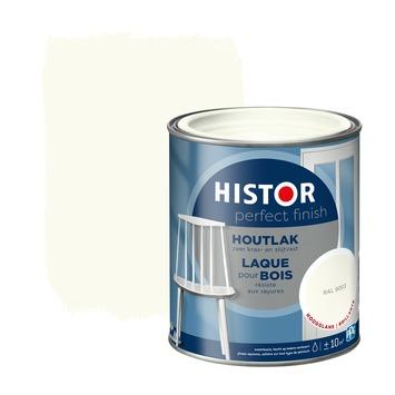 Histor Perfect Finish houtlak hoogglans RAL 9003 750 ml