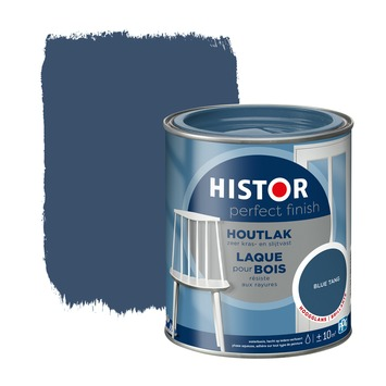 Histor Perfect Finish houtlak hoogglans blue tang 750 ml