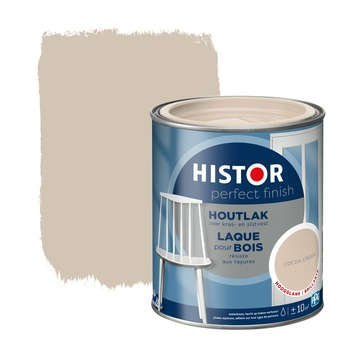 Histor Perfect Finish houtlak hoogglans cocoa cream 750 ml