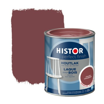 Histor Perfect Finish houtlak hoogglans crazed cranberry 750 ml