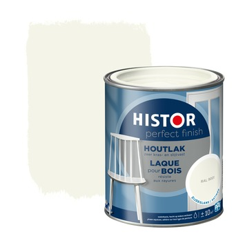 Histor Perfect Finish houtlak zijdeglans RAL 9001 750 ml