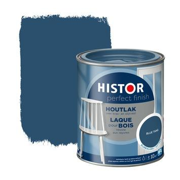 Histor Perfect Finish houtlak zijdeglans blue tang 750 ml