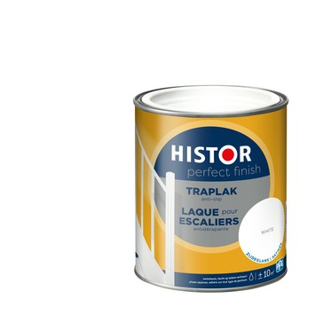 Histor Perfect Finish traplak anti-slip zijdeglans 7000 wit 750 ml