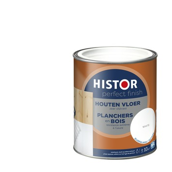 Histor Perfect Finish houten vloer zijdeglans 7000 wit 750 ml
